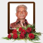 திரு செல்லத்துரை தங்கராசா (குஞ்சர்) – மரண அறிவித்தல்
