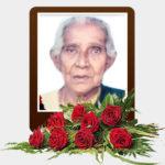 திருமதி தங்கராசா நாகபூசணி அம்மா – மரண அறிவித்தல்