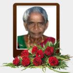 திருமதி சின்னையா பொன்னு – மரண அறிவித்தல்